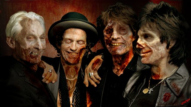 rolling stones zombies