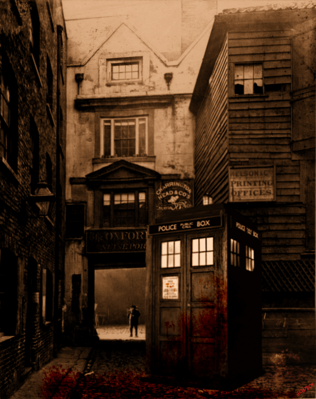 Tardis in whitechapel