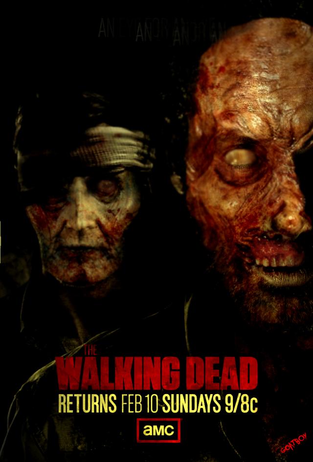 walking dead promo