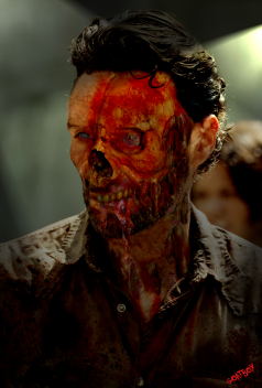 Image result for rick grimes as a zombie