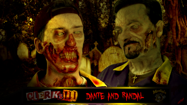 dante and randal zombies