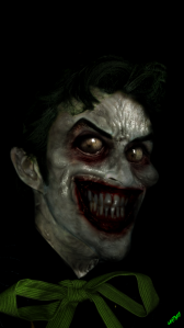 the Jokers smile