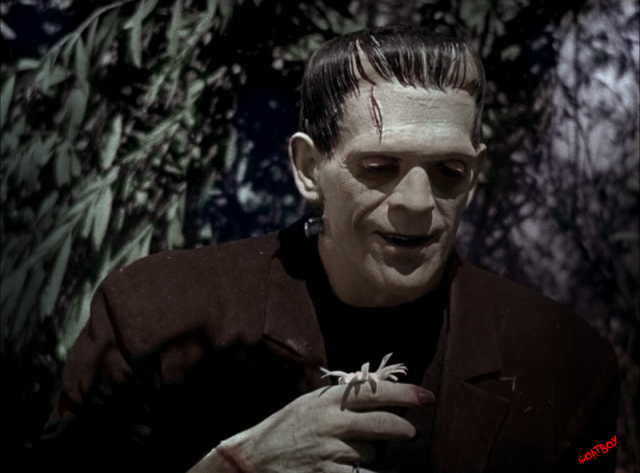 boris karloff in colour