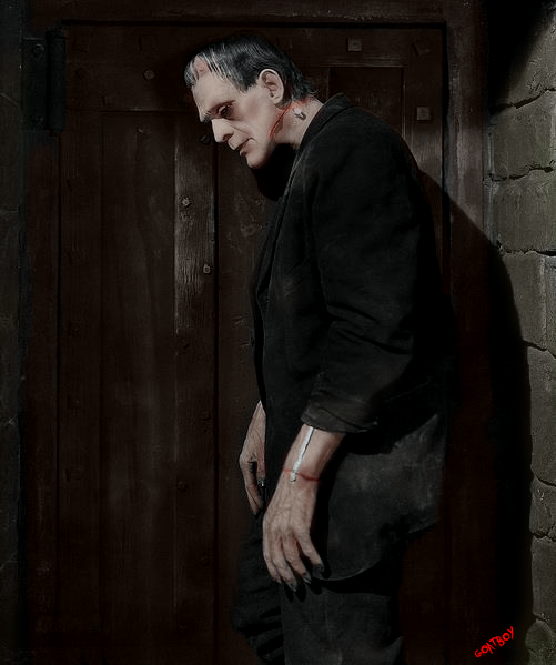 frankenstein in colour
