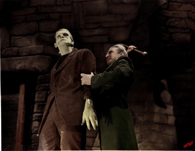 frankensteins monster and walderman