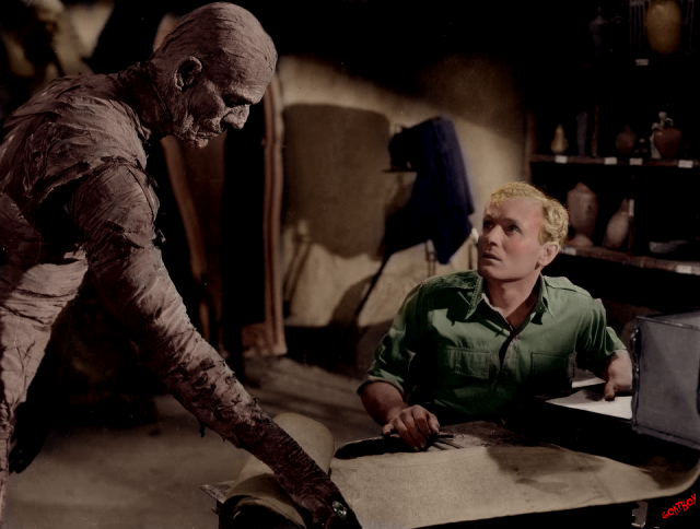 the mummy in colour