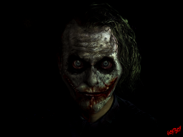 joker bloody
