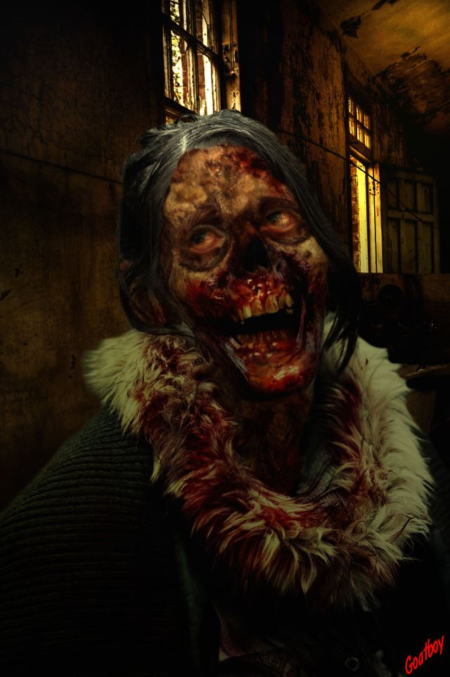 laughing zombie