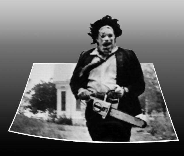 pop up leatherface