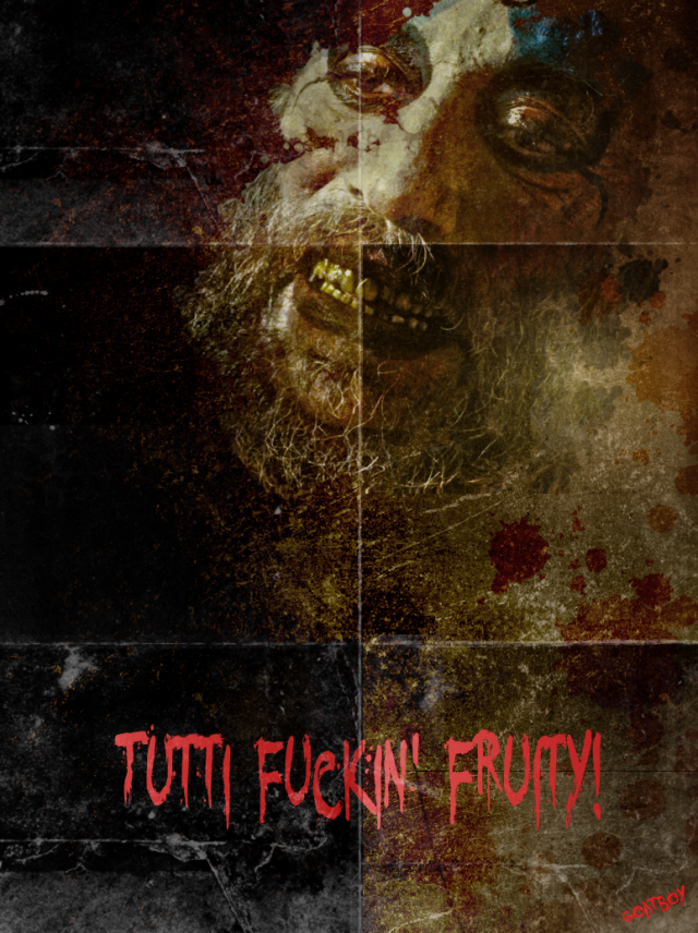 devils rejects captain spaulding poster art