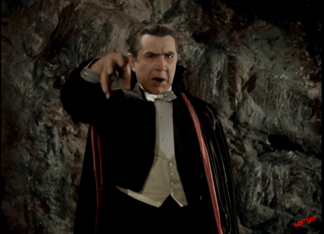 dracula lugosi in colour