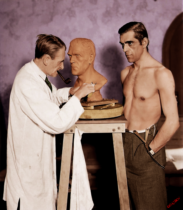 karloff sculpted
