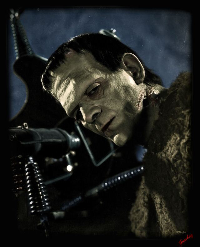 Karloff Frankenstein Colour