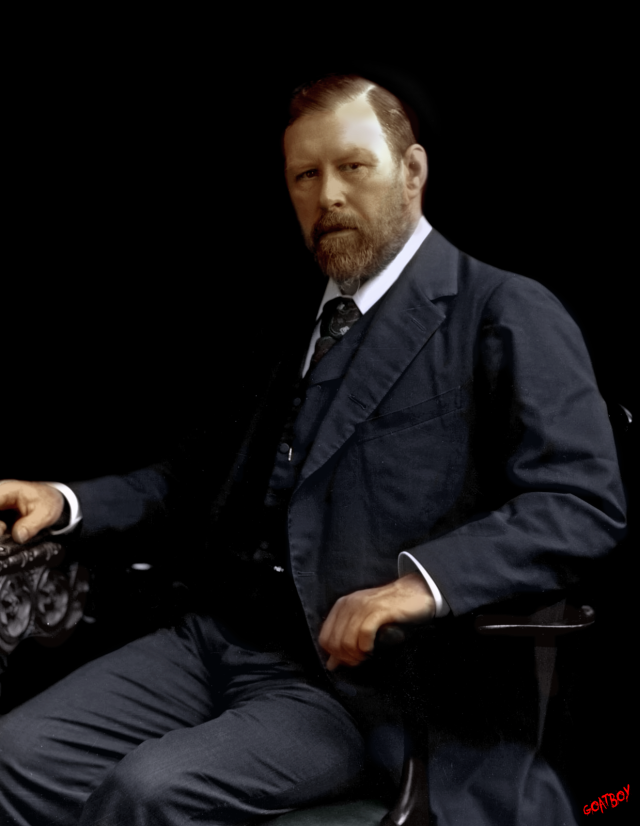bram stoker in colour