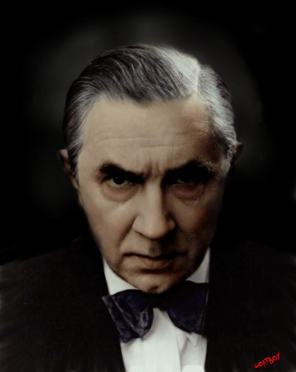 bela lugosi in colour