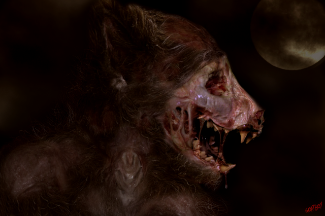 werewolf zombie