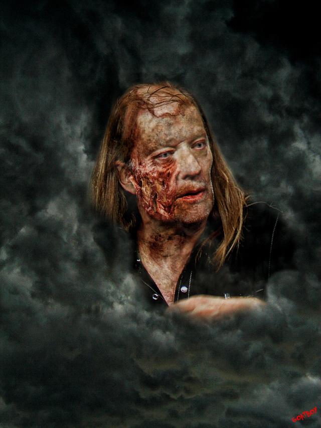 Greg Niccotero zombie