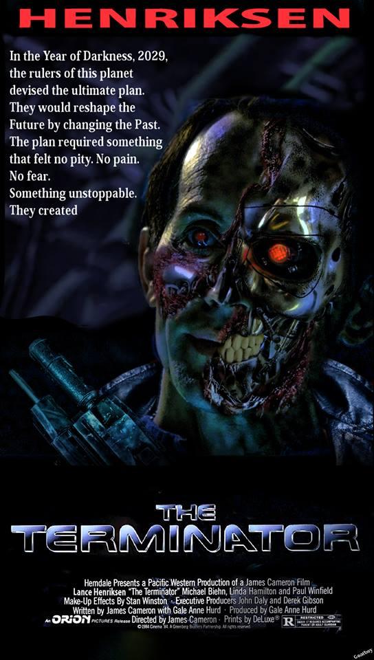 lance henriksen terminator poster