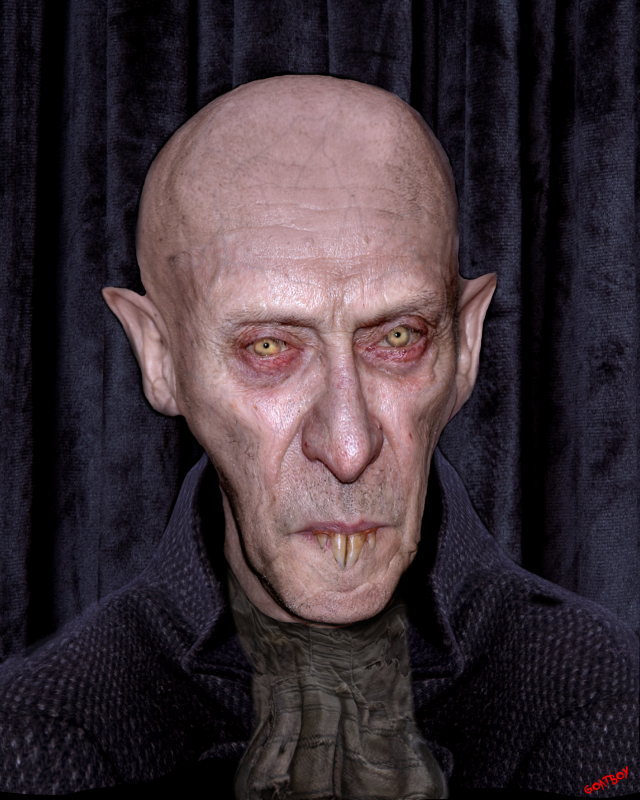 Nosferatu vampyre
